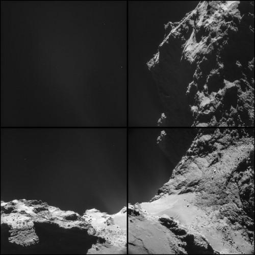 Bild:  ESA/Rosetta/NAVCAM, CC-BY-SA IGO 3.0)