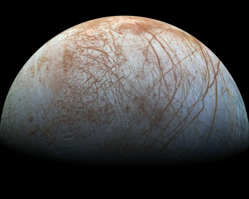 Europa Bild: NASA/JPL-Caltech/SETI Institute