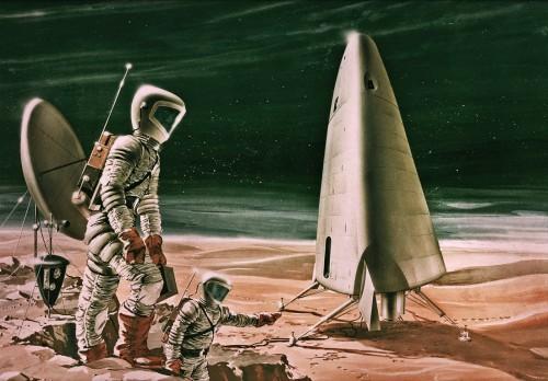 Bemannte Raumfahrt hat schon immer das Potential gehabt, die Menschen zu faszinieren (Bild: NASA)