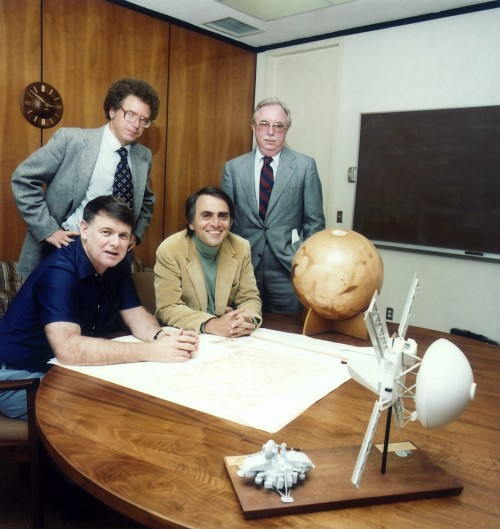 Die Gründer der Planetary Society (Bild: NASA)