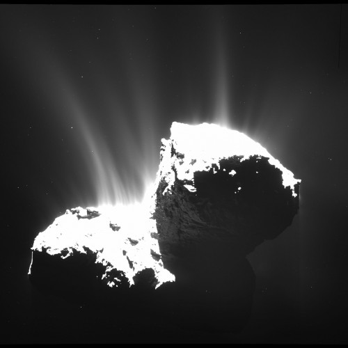 Bild: https://www.esa.int/spaceinimages/Images/2015/01/Comet_activity_22_November_2014