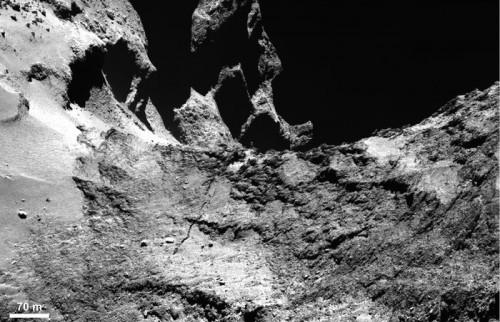 Ein beeindruckendes Bild vom Kometen. Aber sie werden noch besser werden! Bild: ESA/Rosetta/MPS for OSIRIS Team MPS/UPD/LAM/IAA/SSO/INTA/UPM/DASP/IDA