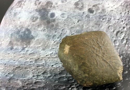 Oued Awlitis 001 und der Mond (Bild: )