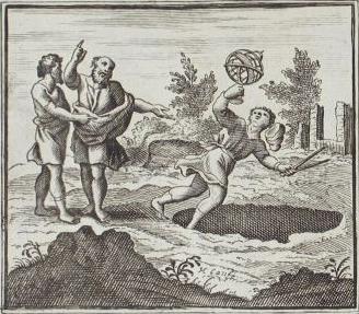 """""""Der Astrologe, der in einen Brunnen fällt"""" (Bild: Public Domain)"""