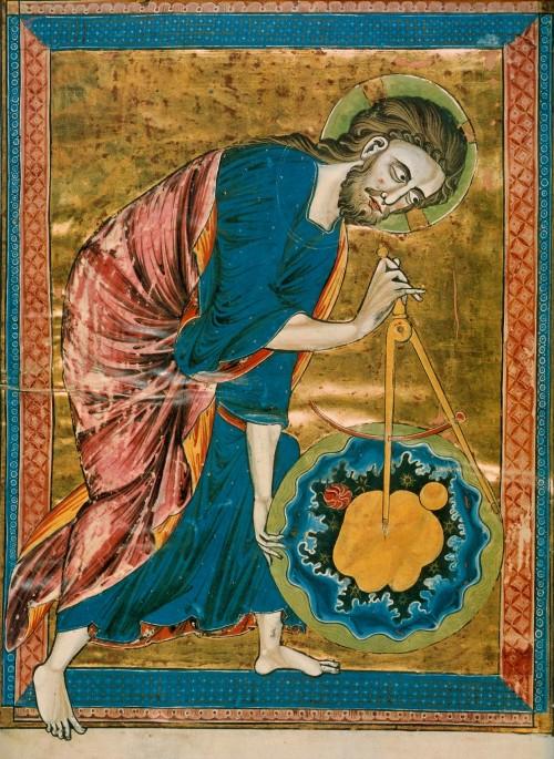 """Hat """"Gott"""" alles ganz genau ausgemessen? (Bild: Public Domain)"""