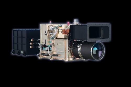 Die HRSC-Kamera von Mars Express, mit der die Bilder aus den Videos gemacht wurden (Bild: DLR; CC-BY-SA 3.0 DE)