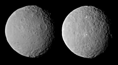 Ceres aus einer Entfernung von 46.000 Kilometer (NASA/JPL-Caltech/UCLA/MPS/DLR/IDA)