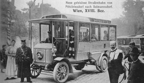 Früher waren die Busse noch pünktlich! (Bild: Public Domain)