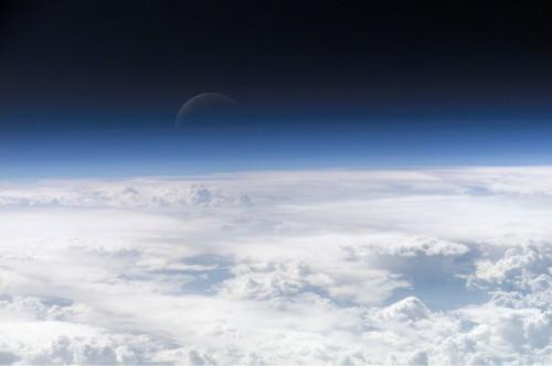Irgendwo da ist das Ozon - wenn es da ist (Bild: NASA)