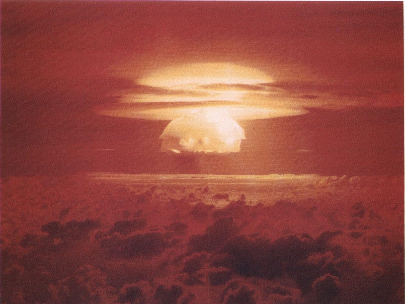 Wasserstoffbombentest