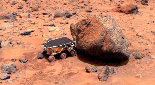 Weiterhin nur von Robotern bevölkert: Der Mars (Bild: NASA)
