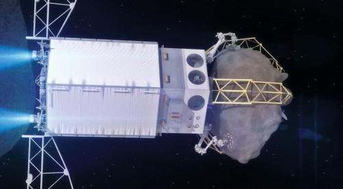 Asteroiden einsammeln! Könnten wir jetzt auch schon tun und die NASA wird das in den nächsten Jahren auch machen! (Bild: NASA)