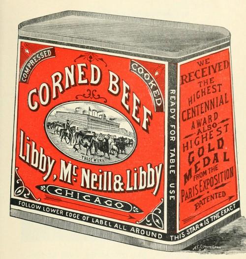 Corned Beef gehört in die Dose! (Bild: Public Domain)