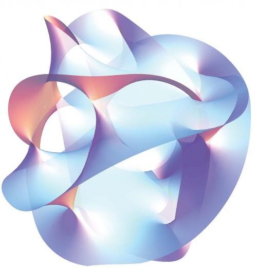So sieht eine Calabi-Yau-Mannigfaltigkeit nicht aus (Bild: Public Domain)