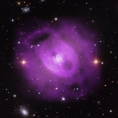 Bild: NASA/CXC/SAO/S.Randall et al., SDSS