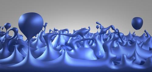 Quantenschaum; zumindest als Illustration (Bild: NASA/CXC/M.Weiss)