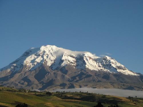 Der Chimborazo (Bild: Kilobug, CC-BY-SA 3.0)