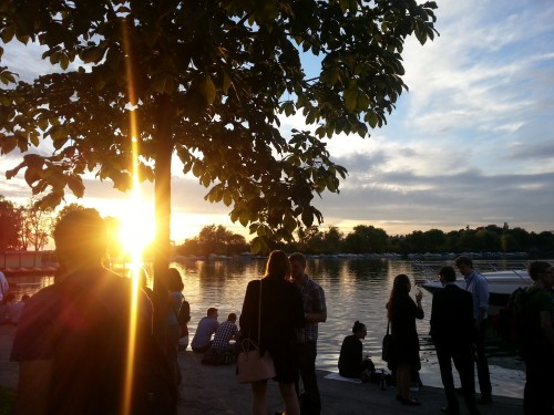 Ein Konferenz am Bodensee im Sommer - was gibts besseres?