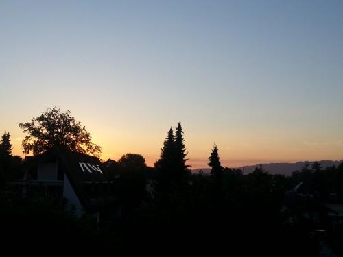 Lindau am Morgen - hier ist die Sonne noch hauptsächlich schön und weder heiß, noch gefährlich