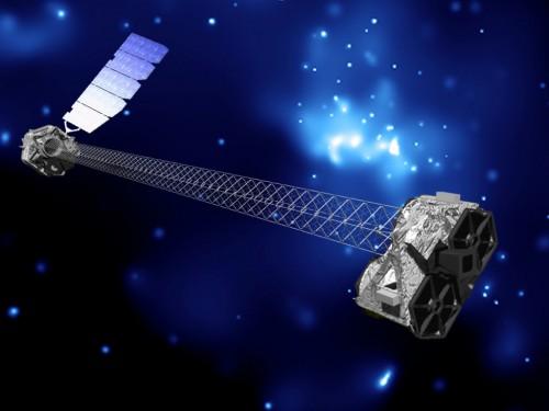 NuSTAR (Künstlerische Darstellung: NASA/JPL-Caltech)