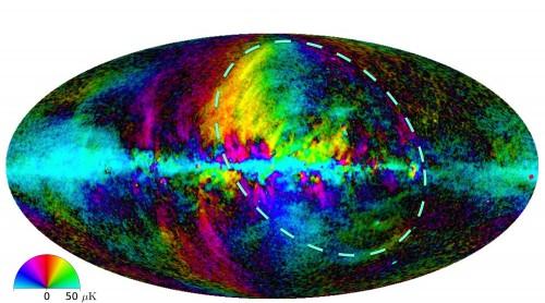 Bild: M. Peel / JCBA / Planck / ESA. Click for a full size image)