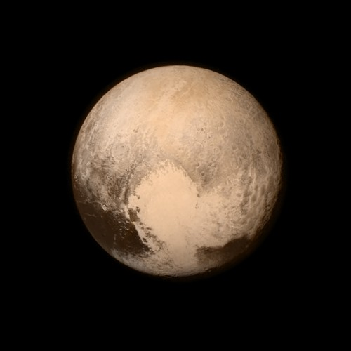 Pluto! Bild: NASA/APL/SwRI