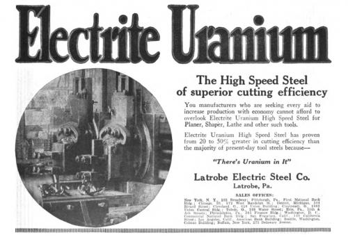Uran hat eine faszinierende Geschichte (Bild: gemeinfrei)