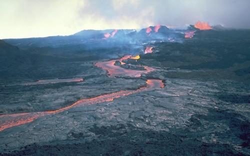 Geologische Aktivität ist wichtig für das Leben! (Bild: USGS)