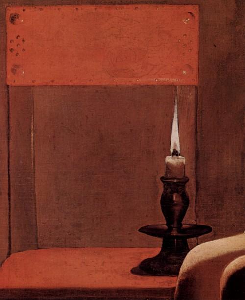 Dunkler als man vielleicht denkt: Die Kerze (Bild: Georges de La Tour, gemeinfrei)