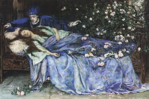 Schlafen bis der Retter kommt (Bild: Public Domain)