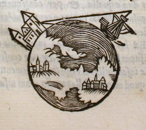 Auch im Mittelalter war  längst bekannt dass die Erde keine Scheibe ist (Bild: gemeinfrei)