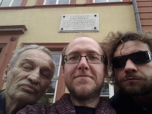 Science Busters Spektroskopie-Selfie in Heidelberg