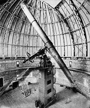 Yerkes-Teleskop (Bild: Public Domain)