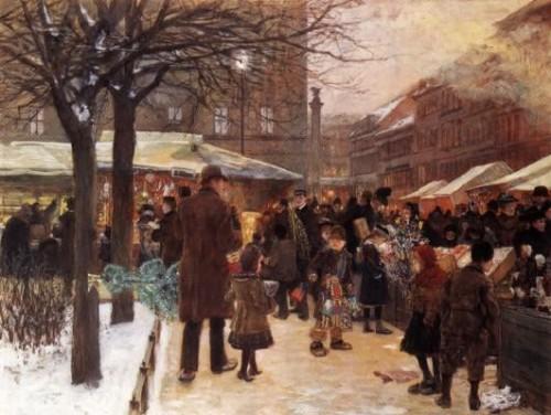 Zu Hilfe! Böse Gutmenschen wollen uns unseren Weihnachtsmarkt stehlen! (Bild: gemeinfrei)