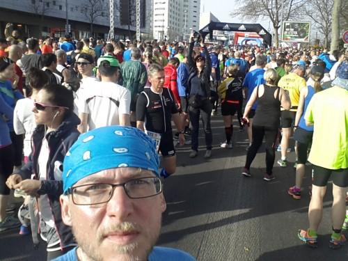 Beim Marathon in Wien war jede Menge los!