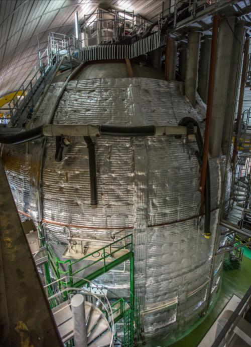 Der Borexino-Detektor (Bild: Public Domain)