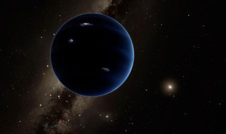 Planet 9? Künstlerische Darstellung: Caltech/R.Hurt(IPAC)