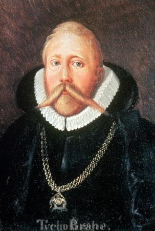 Tycho Brahe (Bild: public domain)