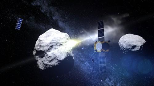 Wird es nicht geben: Die AIM-Mission der ESA (Bild: ESA - ScienceOffice.org)