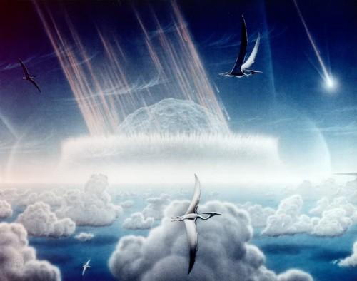 Standardbild zur Illustration von Asteroideneinschlägen (Bild: NASA/JPL)
