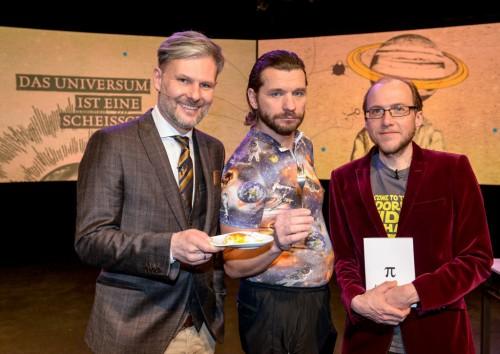 Helmut Jungwirth, Martin Puntigam und ich  (Foto: Foto: ORF/Hubert Mican. Copyright: ORF)