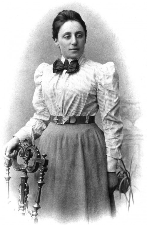 Emmy Noether (Bild: gemeinfrei)