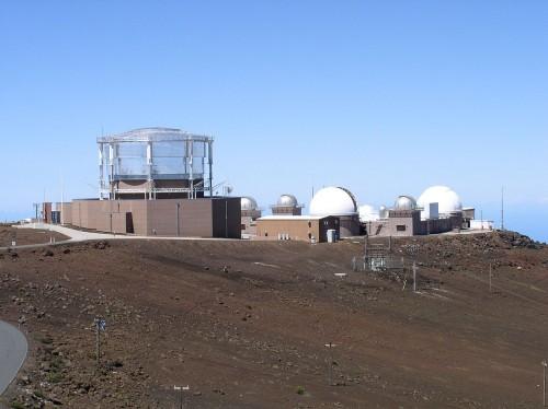 Das Haleakala Observatory auf Hawaii (Bild: Tawker, CC-BY-SA 3.0)