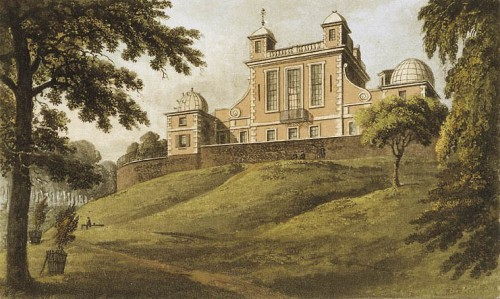 Das Royal Greenwich Observatory! (Bild gemeinfrei)