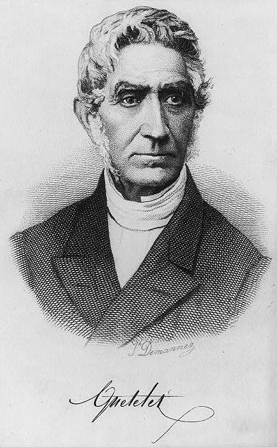 Adolphe Quetelet (Bild: gemeinfrei)