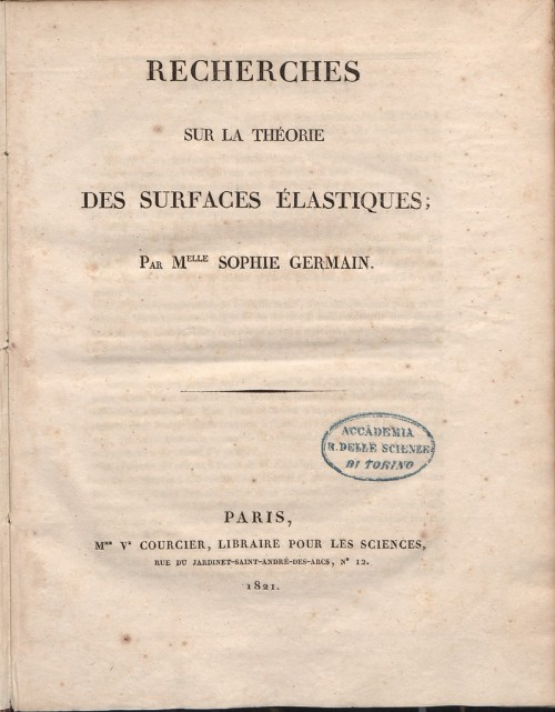 Germain_-_Récherches_sur_la_théorie_des_surfaces_élastiques,_1821_-_723413.tif