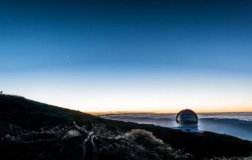 Observatorio del Roque de los Muchachos (Bild: Tim Oberstebrink, rei zur Nutzung bei Nennung des Urhebers)