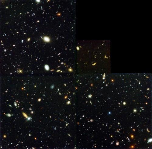 Das Hubble Deep Field (Bild: R. Williams (STScI), the Hubble Deep Field Team and NASA)