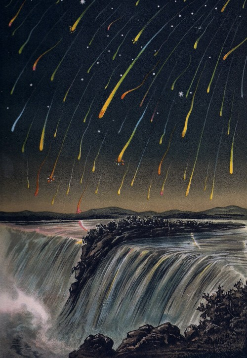 So viele Sternschnuppen wird es wohl leider nicht zu sehen geben... (Bild: Public Domain)