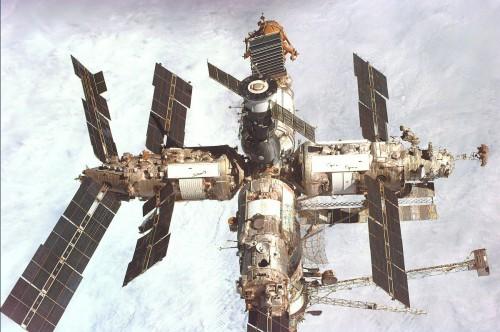 Die Raumstation Mir (Bild: NASA, gemeinfrei)